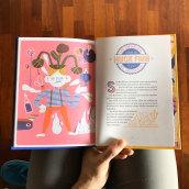 Dónde guardar un libro gigante / Harper Collins. A Illustration, Digitale Illustration und Kinderillustration project by Bruno Valasse - 01.09.2019