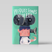 Producciones Violeta / Castillo. A Illustration, Digitale Illustration und Kinderillustration project by Bruno Valasse - 01.05.2018