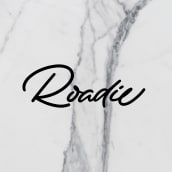Roadie Magazine. A Verlagsdesign, Kalligrafie, Lettering, Kalligrafie mit Brush Pen, H und Lettering project by Iván Caíña - 01.10.2019