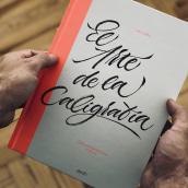 El Arte de la Caligrafía. A Verlagsdesign, Kalligrafie, Lettering, Kalligrafie mit Brush Pen, H und Lettering project by Iván Caíña - 15.10.2019