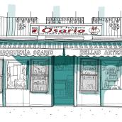 Comercio local. Un proyecto de Dibujo e Ilustración de ferreraledesma - 13.01.2021