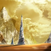 Matte Painting   Teolsc. A Design, and Graphic Design project by Mateo Crespo - 01.15.2021