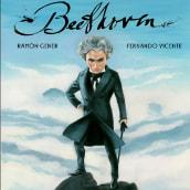 Beethoven. Un músico sobre un mar de nubes de Ramon Gener . Um projeto de Ilustração e Ilustração editorial de Fernando Vicente - 15.01.2021
