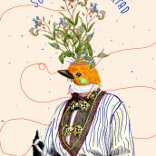 Soñar la libertad: Collage. Un proyecto de Ilustración, Collage, Ilustración digital y Pintura a la acuarela de Mariel Romero - 17.01.2021