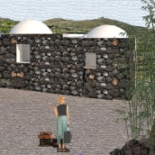 A Dammuso on Pantelleria island. A Architecture project by Cristina - 01.14.2021