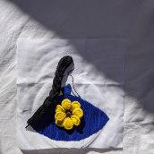 My project in Introduction to 3D Embroidery course. Un proyecto de 3D de Jairo Nunez - 19.01.2021