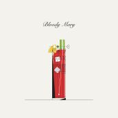 Minibar  . Um projeto de Ilustração, Design gráfico, Ilustração vetorial e Ilustração editorial de Sara Sánchez - 20.01.2021