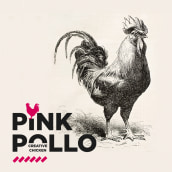 Pink Pollo, creative chicken. A Br, ing, Identit, Graphic Design, Interior Design, and Packaging project by Berta Hernández - 06.20.2016