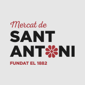 Mercat de Sant Antoni. A Br, ing, Identit, Costume Design, Packaging, and Communication project by Berta Hernández - 06.01.2018