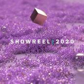 Showreel 2020. Um projeto de Design, Motion Graphics, 3D, Animação, Animação de personagens, Animação 3D e 3D Design de Felipe Goldsack - 23.01.2021