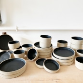 Cafe ceramics for Southpaw Coffee. A Ceramics project by Lilly Maetzig - 06.25.2019