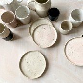 Cafe ceramics for Rise Bakehouse - Dubai. A Ceramics project by Lilly Maetzig - 10.25.2020