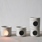 Oil Burners for MASAJ - London. A Ceramics project by Lilly Maetzig - 11.01.2021