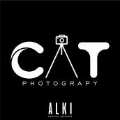 CAT ESTUDIO FOTOGRAFICO. Un proyecto de Diseño gráfico y Diseño de logotipos de Oscar Alejandro Gutiérrez Rodríguez - 30.10.2020
