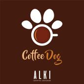 Coffe Dog. Un proyecto de Diseño gráfico y Diseño de logotipos de Oscar Alejandro Gutiérrez Rodríguez - 27.04.2020