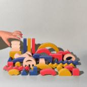 Big Little Fun. Un proyecto de Br, ing e Identidad, Diseño de juguetes y Producción de María Carmona Díaz - 01.12.2020
