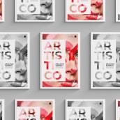 | HALO | Separata Maquillaje Artístico. A Editorial Design, and Graphic Design project by Valeria Salvador - 01.27.2021