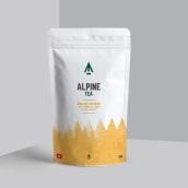 Alpine Tea packaging. Um projeto de Packaging de Diana Creativa - 28.01.2021