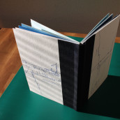My project in Handmade Binding without Stitches course. A Bookbinding project by Sumiko - 01.28.2021