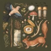 2021 Calendar. A Illustration, Botanical illustration, and Naturalist Illustration project by Jessica Roux - 09.29.2020