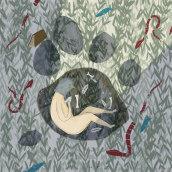 """""""Mamá"""" - Poesía ilustrada. A Illustration, Digital illustration, and Editorial Illustration project by Laura Tova - 01.15.2021"""