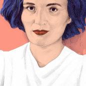 Carmen Laforet, Book Cover for Destino. A Editorial Illustration project by Silja Goetz - 01.02.2021