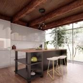 Mi Proyecto del curso: Iniciación al diseño de interiores. Un proyecto de Arquitectura, Arquitectura interior, Diseño de interiores, Decoración de interiores y Diseño 3D de Ichik Le - 19.11.2019