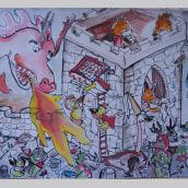My project in The Art of Sketching: Transform Your Doodles into Art course. Un progetto di Illustrazione, Disegno artistico, Illustrazione infantile e Illustrazione con inchiostro di Antonia Papaioannou - 03.02.2021