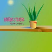 Jardines y Plantas . A Design, Grafikdesign und Digitale Illustration project by Pedro Jimenez Madrid - 04.02.2021