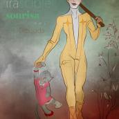 La Irascible Sonrisa Dibujada. A Design, Mode und Editorial Illustration project by Pedro Jimenez Madrid - 04.02.2021