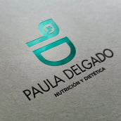 Paula Delgado Nutrición. Um projeto de Design, Br, ing e Identidade e Design gráfico de Aitor Esteve Francés - 20.12.2020