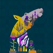 Mi Proyecto del curso: Ilustración vectorial con estilo. . A Illustration project by Anabel Carrasco - 02.04.2021