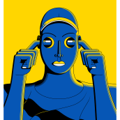 Silkscreen posters and illustrations. Un proyecto de Ilustración y Diseño de carteles de Zamo Peza - 04.02.2021