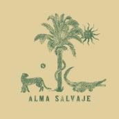 ALMA SALVAJE. A Illustration, Br, ing und Identität und Modedesign project by Fabry Salgado - 25.01.2021