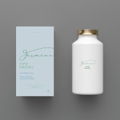 Jasmine Logo & Brand. A Graphic Design project by Camila Moliner - 02.06.2021