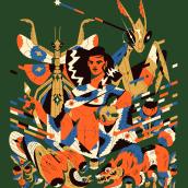 Alados 10. Un projet de Design , Illustration, Direction artistique, Beaux Arts, Théorie des couleurs et Illustration éditoriale de Profe - 01.02.2021