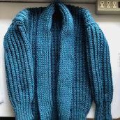 Mi Proyecto del curso: Crochet: crea prendas con una sola aguja. A Mode, Weben und Crochet project by Nadia Ham - 08.02.2021