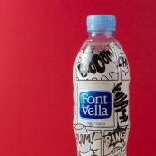 Font Vella - Sed de Vivir. Um projeto de Design gráfico, Comic e Ilustração digital de David Crispín - 15.06.2013