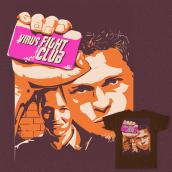 Virus fight club. A Digital illustration project by Jesus Marsan - 03.10.2020