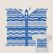 Sail together. A Vector Illustration project by Jesus Marsan - 05.16.2020