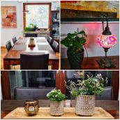 De Navidad a Primavera: cambio de estación en el living y el comedor. Un projet de Décoration d'intérieur de Claudia Peisert - 10.02.2021