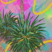 Desert Magic . Un proyecto de Ilustración digital de andreapbdz - 13.02.2021