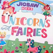 Unicorns and Fairies: Jigsaw Book . Un progetto di Character Design, Illustrazione digitale e Illustrazione infantile di Pamela Barbieri - 15.02.2021