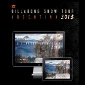 Billabong ARG Snow Tour 2013. Un progetto di Design, Graphic Design, Design interattivo, Creatività, Fashion Design , e Design digitale di Martín Korinfeld Ruiz - 20.06.2013