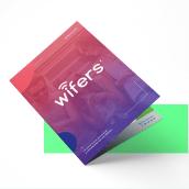 Wifers. Un progetto di Design, Br, ing e identità di marca, Progettazione editoriale, Graphic Design, Creatività, Design digitale , e Progettazione di applicazioni di Martín Korinfeld Ruiz - 18.10.2012