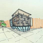 """....""""croquis"""". Un progetto di Architettura di Arturo Bustíos Casanova - 15.02.2021"""