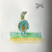 My project in Illustrating Nature: A Creative Exploration course. Um projeto de Ilustração, Desenho a lápis, Pintura em aquarela e Ilustração com tinta de cerisiatatorin - 16.02.2021