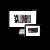 Website Visual Artist. Un progetto di Design, Br, ing e identità di marca, Graphic Design, Web Design, Sviluppo Web , e Creatività di Martín Korinfeld Ruiz - 18.05.2012