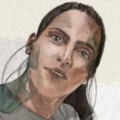 Mi Proyecto del curso: Retrato ilustrado con Procreate. Un proyecto de Bellas Artes de Natasha Urquia - 19.02.2021