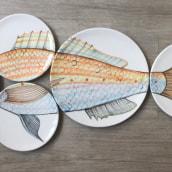 Mi Proyecto del curso: Pintura a mano sobre cerámica. A Crafts project by Nuria Blanco - 02.20.2021